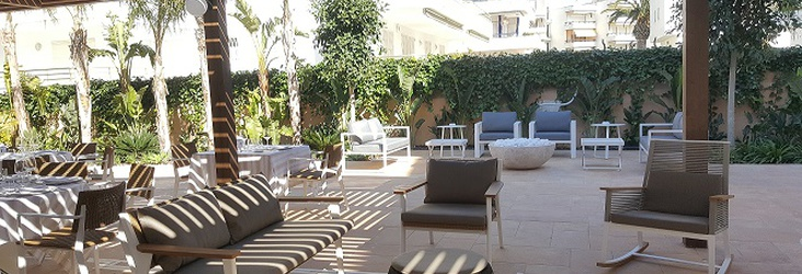 CHILL OUT AREA Hotel Casa Vilella Sitges