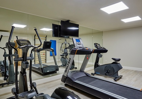 Fitness center Hotel Casa Vilella Sitges